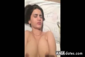 Arab Girl Fingering Herself
