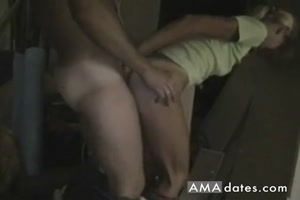 Standing Anal creampie