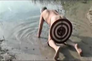 Testicle Target Practice