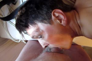 chris ellis sucking his Masters cock